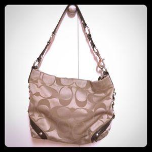 Coach khaki bag